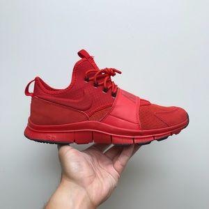 Nike Free Ace Leather - Size 10.5 University Red